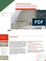 PwC - Teams - Management - Enhancing Tax Process Management and Controls