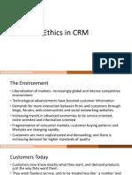 Ethics in CRM Module 9