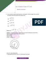 Maths circles