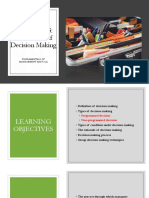 Chapter 3-Decision Making (1)