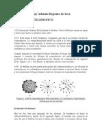 RESEÑA HISTORICA DE EL SISTEMA TELEFONICO