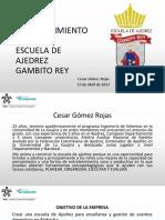 Presentación Pitch de Emprendimiento Cesar Gomez