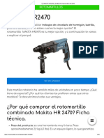 ? MAKITA HR2470 _ TALADRO PERCUTOR
