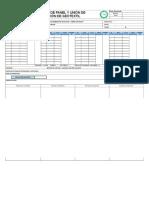 Aceptación de Panel y Unión de Instalación de Geotextil
