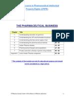 Module I the Pharmaceutical Business