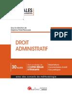 L2 - Droit Administratif (Corrigé)