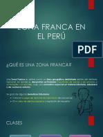 Motivacion ...Zona Franca en El Peru