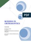 seminar on Bonding in Orthodontics Girish