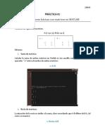 Matlab ejercicios de matrices