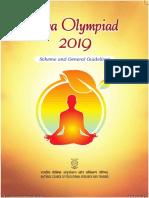Yoga Olympiad Scheme 2019