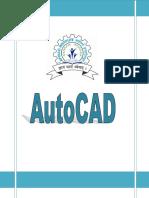 AutoCAD Final Notes