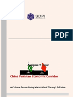China Pakistan Economic Corridor By Badar Khan