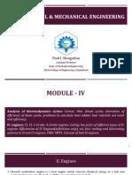 Basics of Civil & Mechanical Engineering (Module 4-6)