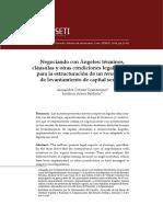 Condiciones Legales Para Estructurar Levantamiento de Capital Semilla (Orbezo 2018)