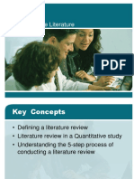 4Chap _ Reviewing the Literature.ppt