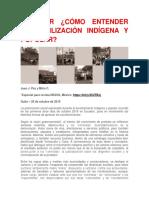 ECUADOR ¿CÓMO ENTENDER LA MOVILIZACIÓN INDÍGENA Y POPULAR?