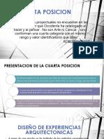 Metologia 4 Posicion y Diseño de Arquitectonico