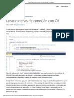Crear Cadenas de Conexión Con C# _ ASP.net Core Master