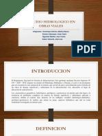 Estudio Hidrologico en Obras Viales