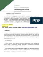 1 - Edital Projeto Elétrico UA - Completo