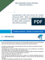 Asl Pescara Bilancio D'Amario