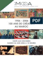 100ans de Création Au Maroc