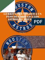 Diego Ricol - Gerrit Cole Colocó a Un Paso Del Título a Los Astros de Houston