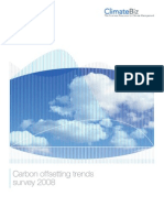 ECO Carbon Offsetting Trends Survey 2008