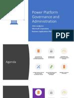 2019-05-22 Power Platform Governance and Administration