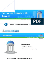 Advanced Search With Lucene