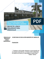 PREESCOLAR proyecto ludico    2018.pptx