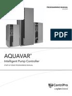Goulds Aquavar IPC Start Up Genie Programming Guide