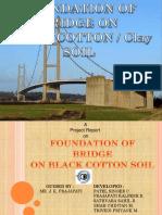 Foundation of Bridge on Black Cotton Soil