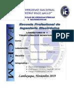 Lab.N°4 deTransformadores Trifasicos