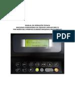 Manual de Operacion Maquina Enfriadora de Liquido MEL BRAC2202