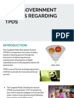 State Government Policies Regarding Tpds
