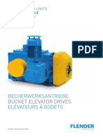 FZG Flender Katalog MD20 2 Becherwerksgetriebe