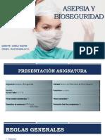 Asepsia y Bioseguridad Clase 1