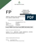 Resolución Del TOF 1 de Mendoza Garro