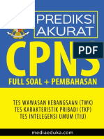 PREDIKSI AKURAT SKD CAT CPNS.pdf