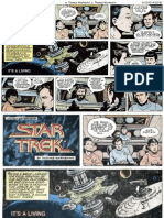08 Star Trek Comic Strip US - Its a Living