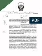 RESOLUCION DEL CONSEJO DEL NOTARIADO  52 -2019-JUS/CN