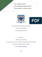 Evaluacion Diagnostica y Sumativa