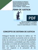 sistema de justicia