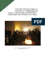 LA ZAMBOMBA DE JEREZ Y DE ARCOS COMO BIEN DE INTERES CULTURAL