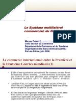 Maryse Robert-Système Multilatéral Commercial