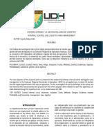 EL SISTEMA DE CONTROL INTERNO Y LA GESTION DEL AREA  DE LOGISTICA EN LA DIRECCION REGIONAL DE AGRICULTURA  HUÁNUCO - 2019