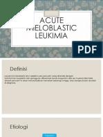 Acute Mieloblastic Leukimia