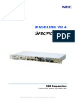 IPASOLINK VR4 Specifications