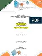 Unidad 1 Fase 2 - Realizar El Análisis y Diagnóstico Estratégico - Trabajo Colaborativo